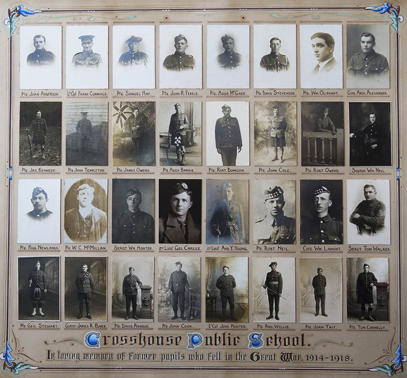 Crosshouse Soldiers - graphic link to main website